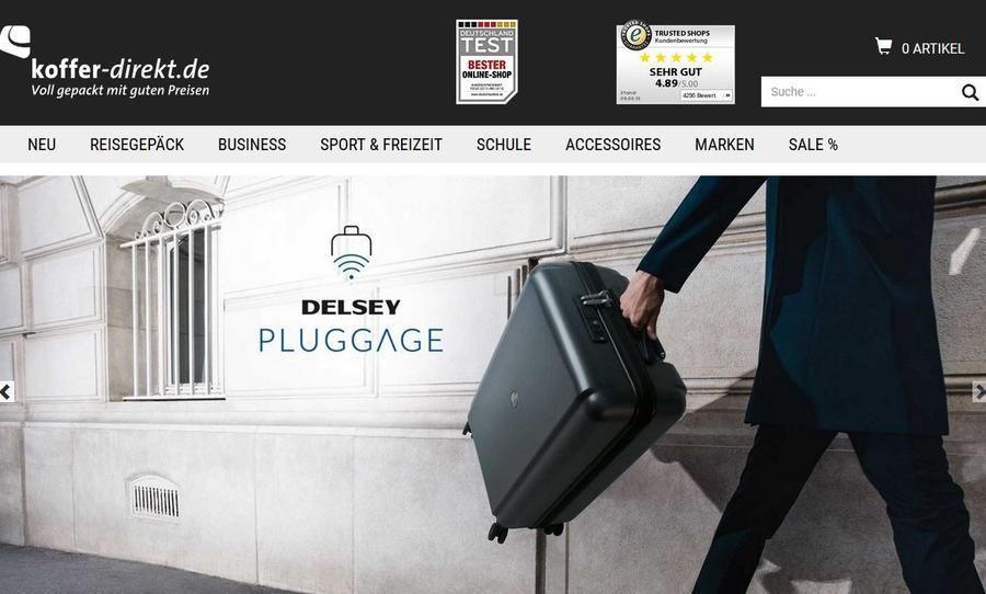 Koffer direkt homepage