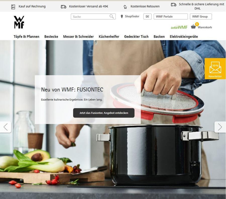 Wmf homepage