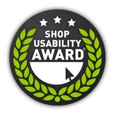 Shop usability award