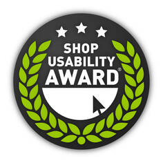 Shop usability award